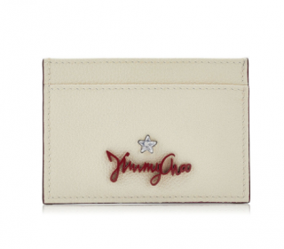 Jimmy Choo Aries leather card holder
