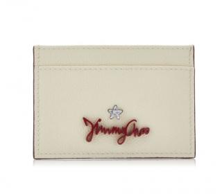 Jimmy Choo Aries leather card holder