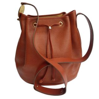 Christian Dior Vintage leather drawstring crossbody bag