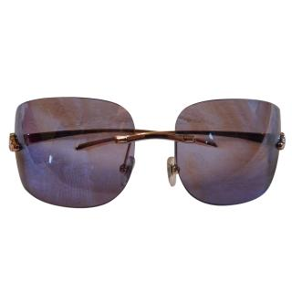 Cartier Panthere Rimless Sunglasses