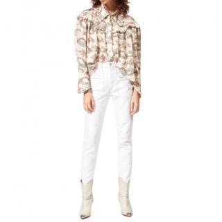 Isabel Marant White Overa Jeans