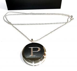 Picciotti signature silver pendant