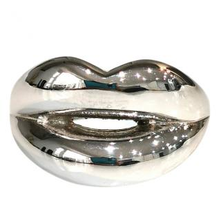 Solange Azagury Partridge Solid Silver Lips Ring
