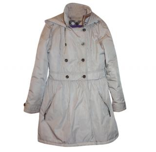 Burberry Girl's 12 years Puffer Coat W/ Detachable Hood