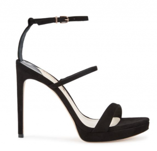 Sophia Webster Rosalind Black Suede Sandals