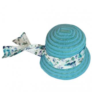Kenzo Girl's T6 Blue Summer Hat