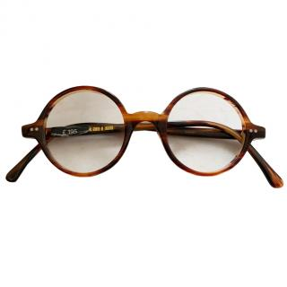 Cutler & Gross Men's Round Optical Glasses