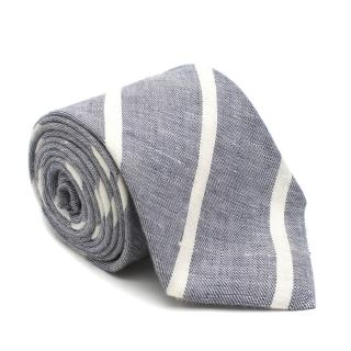 Sartoria Rossi Silk blend Blue Striped Tie
