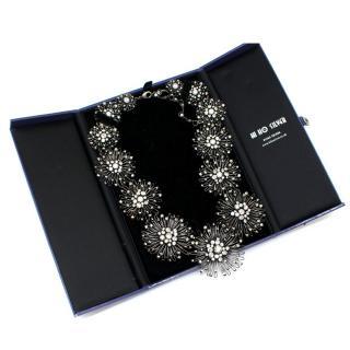 Konplott Silver Tone Distel Necklace