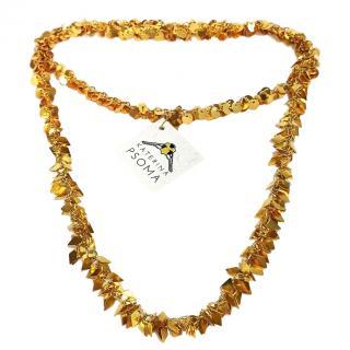 Katerina Psoma Gold Tone Embellished Necklace
