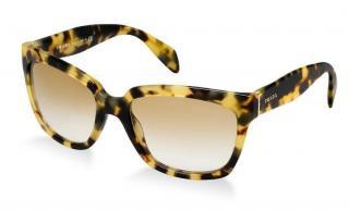 PRADA SPR 07P Square Tortoiseshell Sunglasses