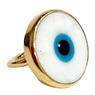 Elena Votsi Evil Eye Ring