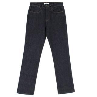 Frame Blue Boyfriend Fit Jeans