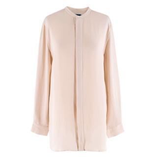 Polo Ralph Lauren Dusty Pink Silk Shirt