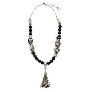 Gas Bijoux Beaded Embellished Necklace