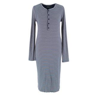 Polo Ralph Lauren Striped Polo Midi Dress