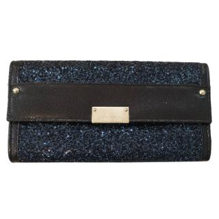 Jimmy Choo Coarse Glitter Wallet