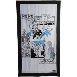 Prada SS18 DNA comics collection beach towel