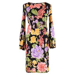 Dolce & Gabbana Key-Hole Back Dress