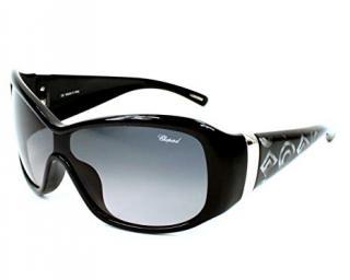 Chopard oversized acetate sunglasses
