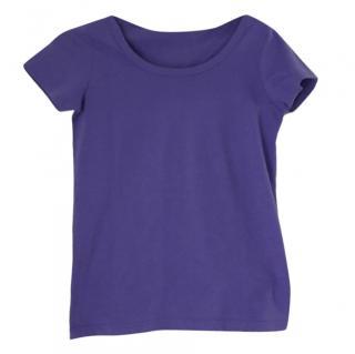 Dolce & Gabbana Purple T-Shirt