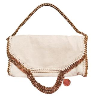 Stella McCartney Washed Linen Small Falabella Tote