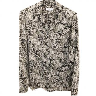 Equipment Floral Camo Print Shirt