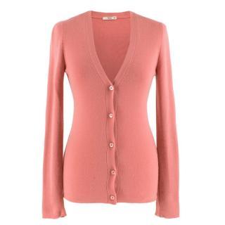 Prada Pink Cashmere blend Cardigan