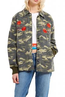 Opening Ceremony Tigers Coach Camouflage Printed Jacket