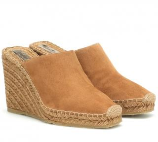 Jimmy Choo Suede Dalisay 110 Espadrille Mules