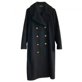Polo Ralph Lauren Black Oversize Coat