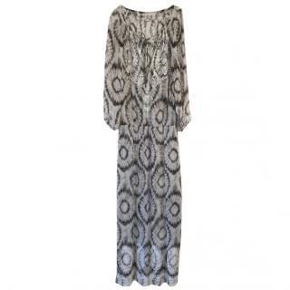 Marie France Van Damme Tie Dye Maxi Dress
