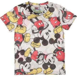 Mc2 Saint Barth Mickey Mouse Print T-Shirt