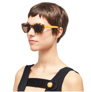 Prada Military Brown Disguise Sunglasses - Current Season