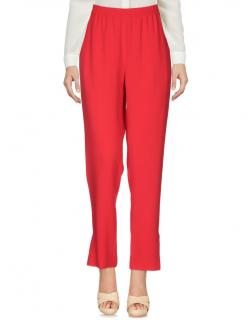 Stella McCartney Red Track Pants