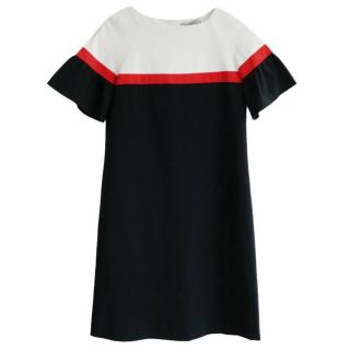 Marella Colourblock Stretch Jersey Dress