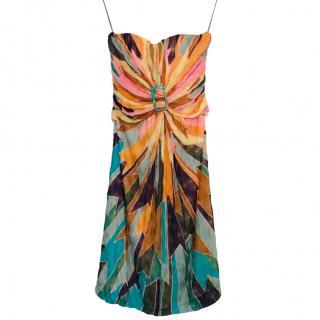 Missoni knit Strappy Mini Dress