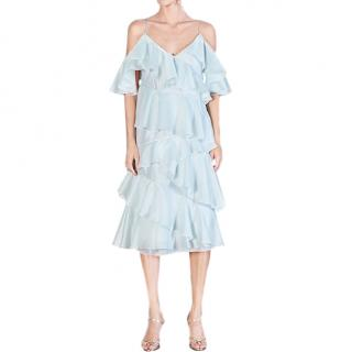 Anna October Stealing Beauty ruffled crepe dress