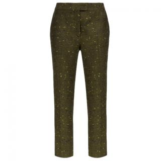 Christopher Kane crazy tweed skinny trousers
