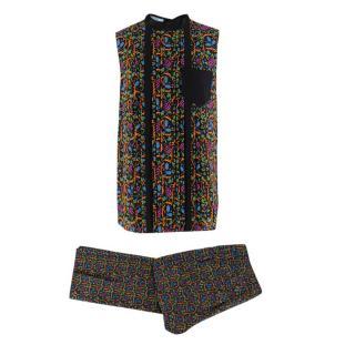 Prada by Holliday & Brown Printed Top & Trousers