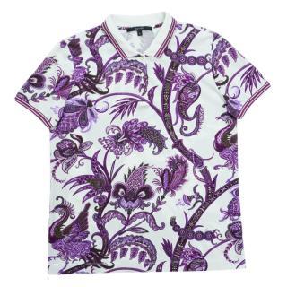 Gucci Paisley Print Polo Shirt