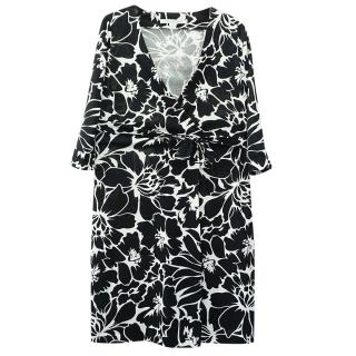 Diane Von Furstenberg Julian Two Silk Wrap Dress