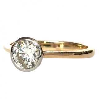Bespoke 0.95ct Diamond Solitaire Ring