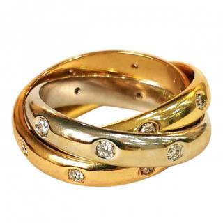 Picchiotti Diamond Trinity Ring