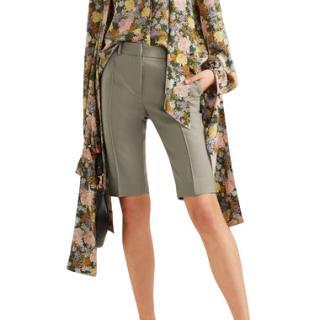Rokh Wool blend Grey Shorts