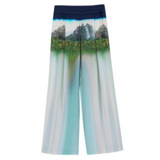 Matthew Williamson Silk Printed Trousers