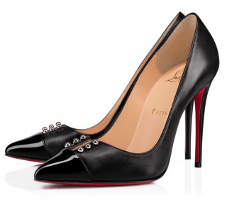 Christian Louboutin Predupump 100 Black Pumps
