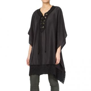 Faith Connexion Black Cape Dress