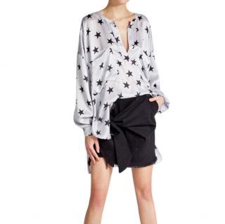 Faith Connexion star print silk shirt