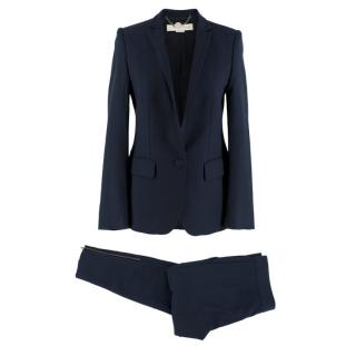 Stella McCartney Navy Wool Suit